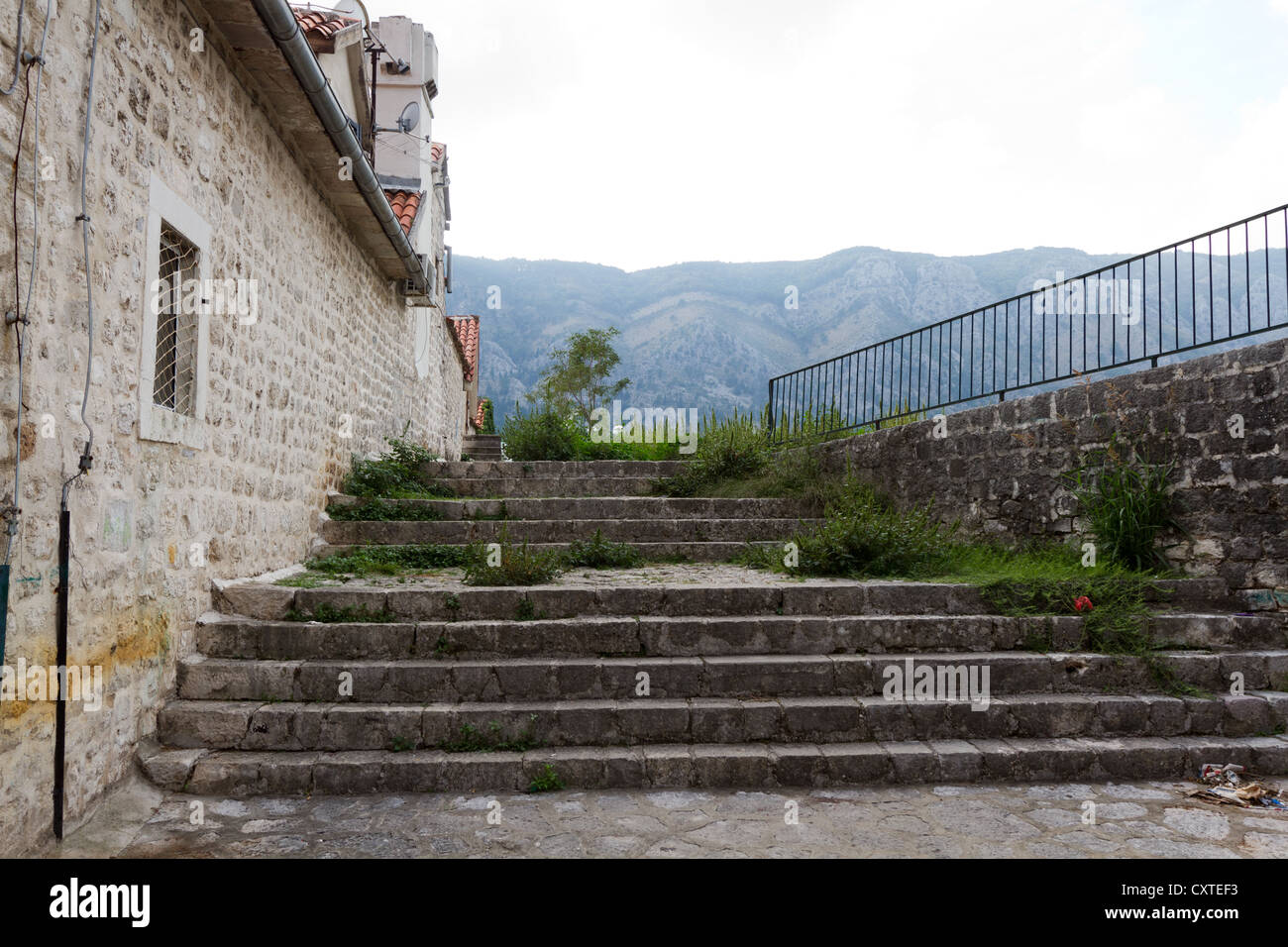 Picture from Kotor, Montenegro Stock Photo