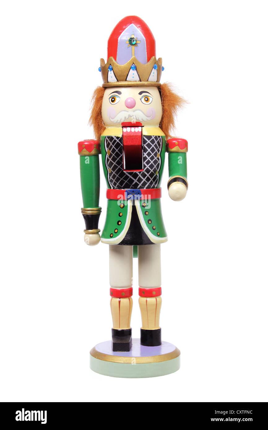 Christmas Nutcracker Ornament - Stock Image