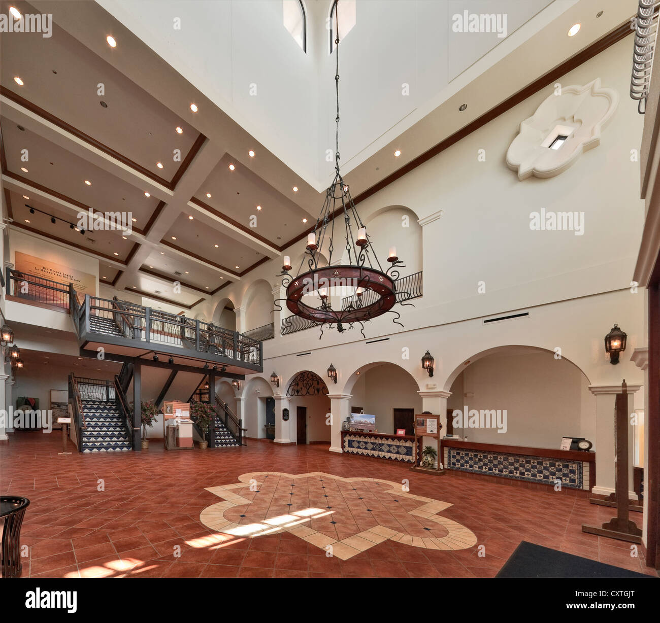 Grand Lobby at Museum of South Texas History, Spanish