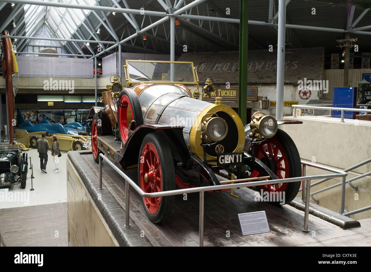 Dh Beaulieu BEAULIEU HAMPSHIRE Chitty Chitty Bang Bang Car Display Inside  Beaulieu National Motor Museum