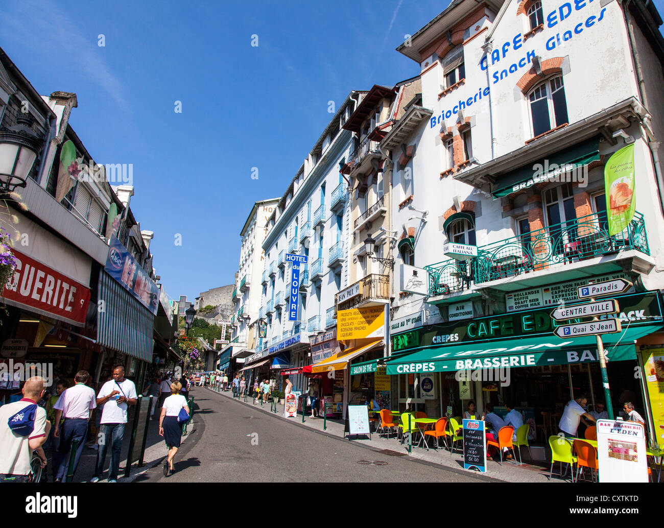 Lourdes, Hautes Pyrenees, France Stock Photo