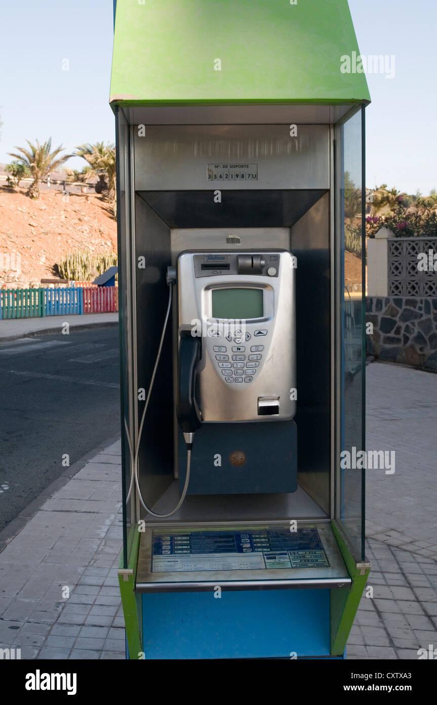 pay phone payphones landline call box callbox boxes callboxes phonebox phoneboxes phones payphone payphones coin - Stock Image