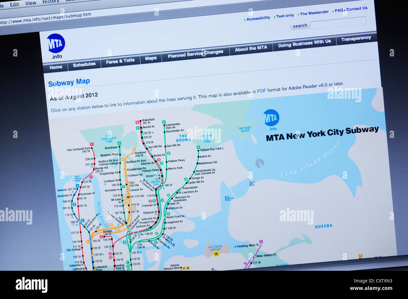 Subway Map 137 Hudson Street.Nyc Subway Map Stock Photos Nyc Subway Map Stock Images Alamy