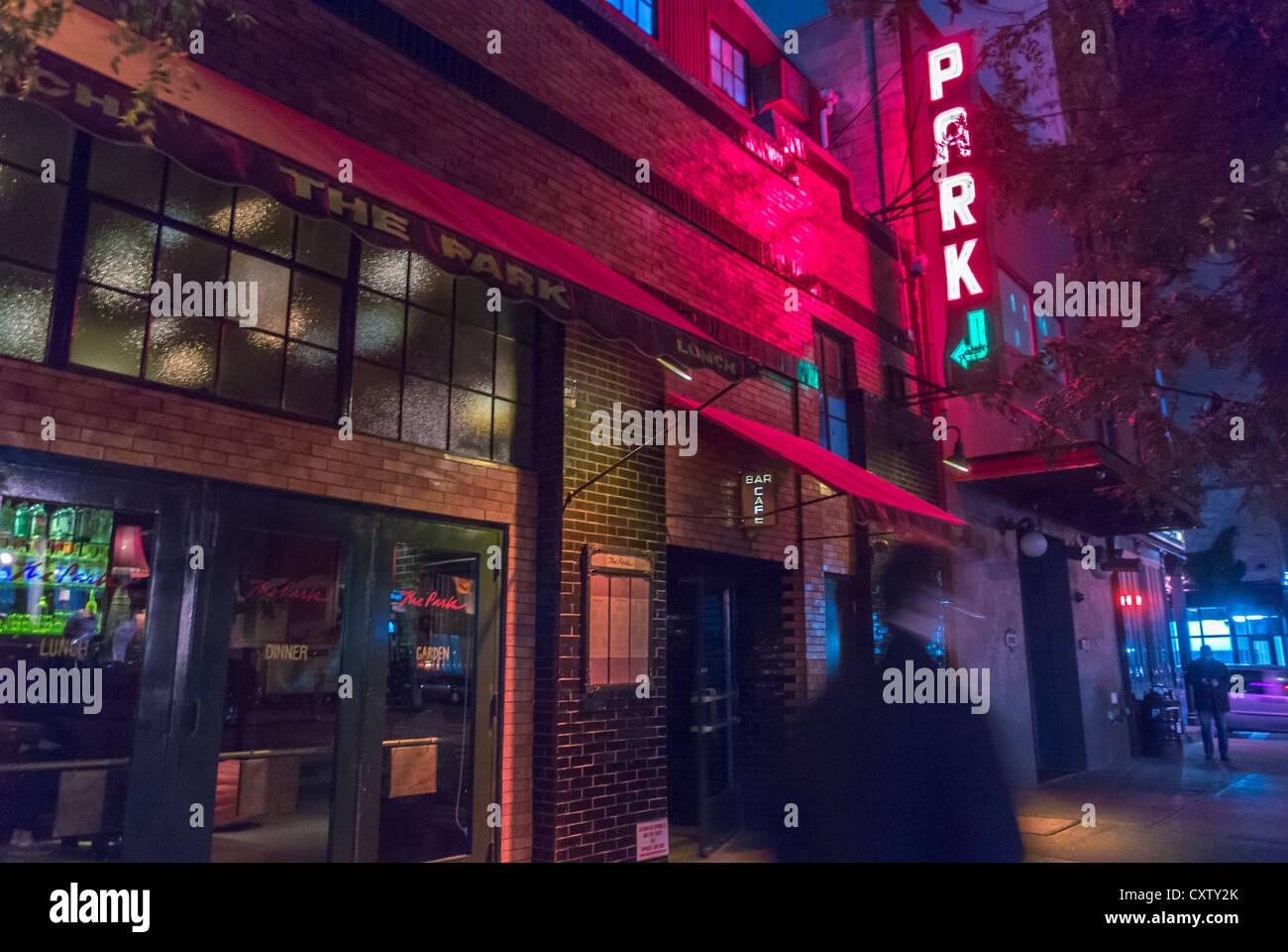 New York City Ny Usa American Restaurant The Park