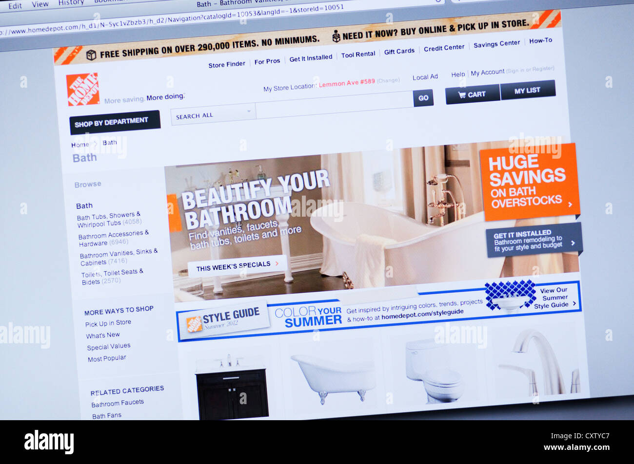 The Home Depot Store Stock Photos & The Home Depot Store Stock ...