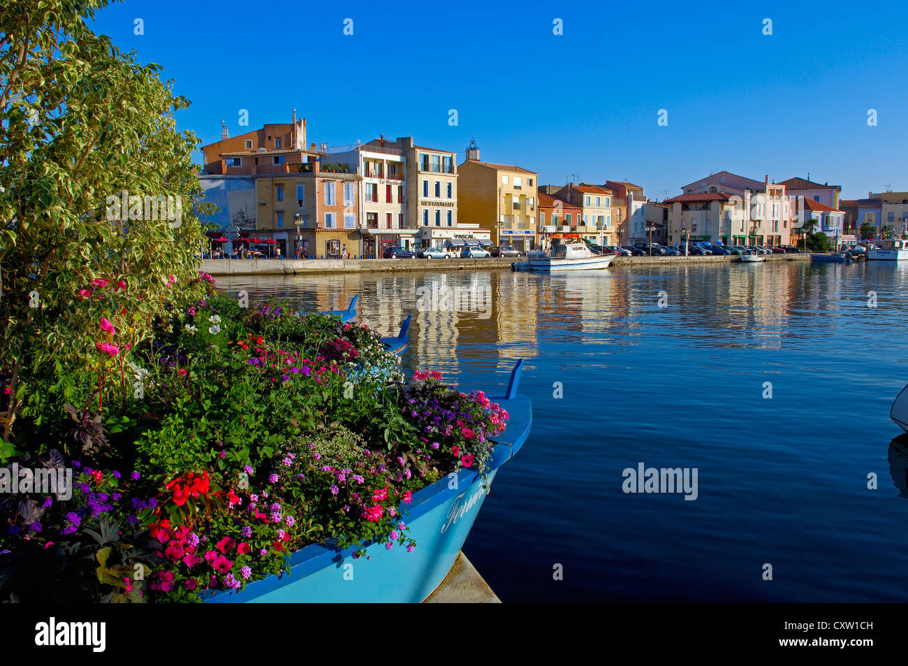 Martigues, Bouches du Rhone, Provence, France, Europe - Stock Image