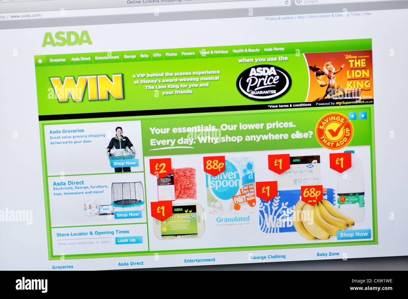 asda direct groceries