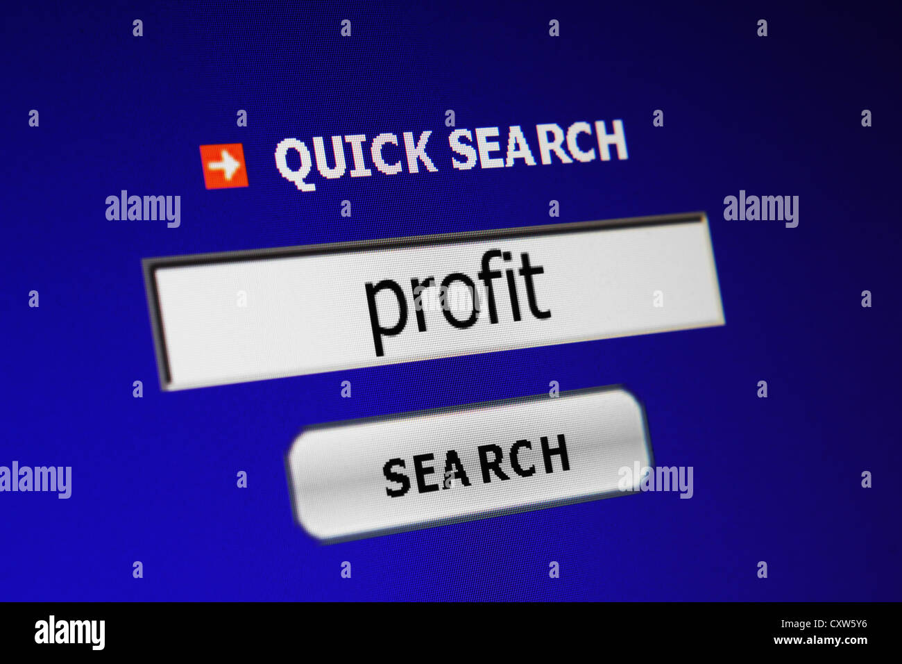 Screen code concept - Stock Image