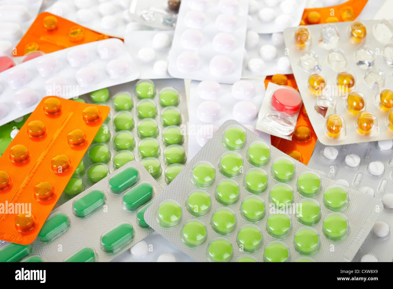 pill - Stock Image
