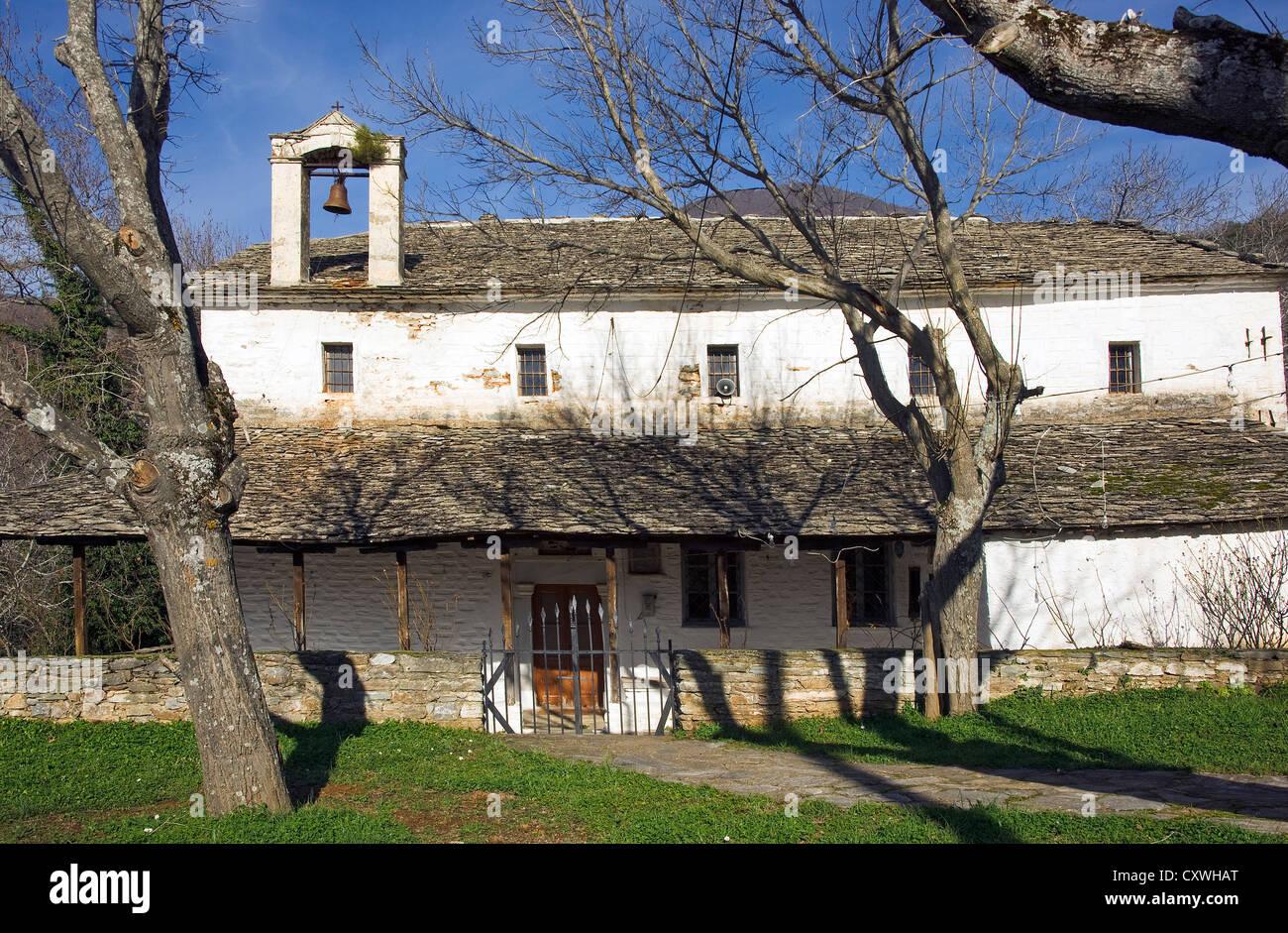 Old church near Agios Georgios (Pelion Peninsula, Thessaly, Greece) - Stock Image