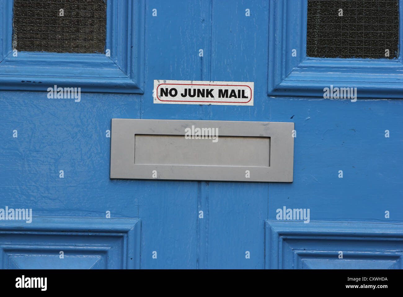letterbox door letterbox no junk mail brightly colored door detail photoarkive  sc 1 st  Alamy & Door Letterbox Stock Photos u0026 Door Letterbox Stock Images - Alamy