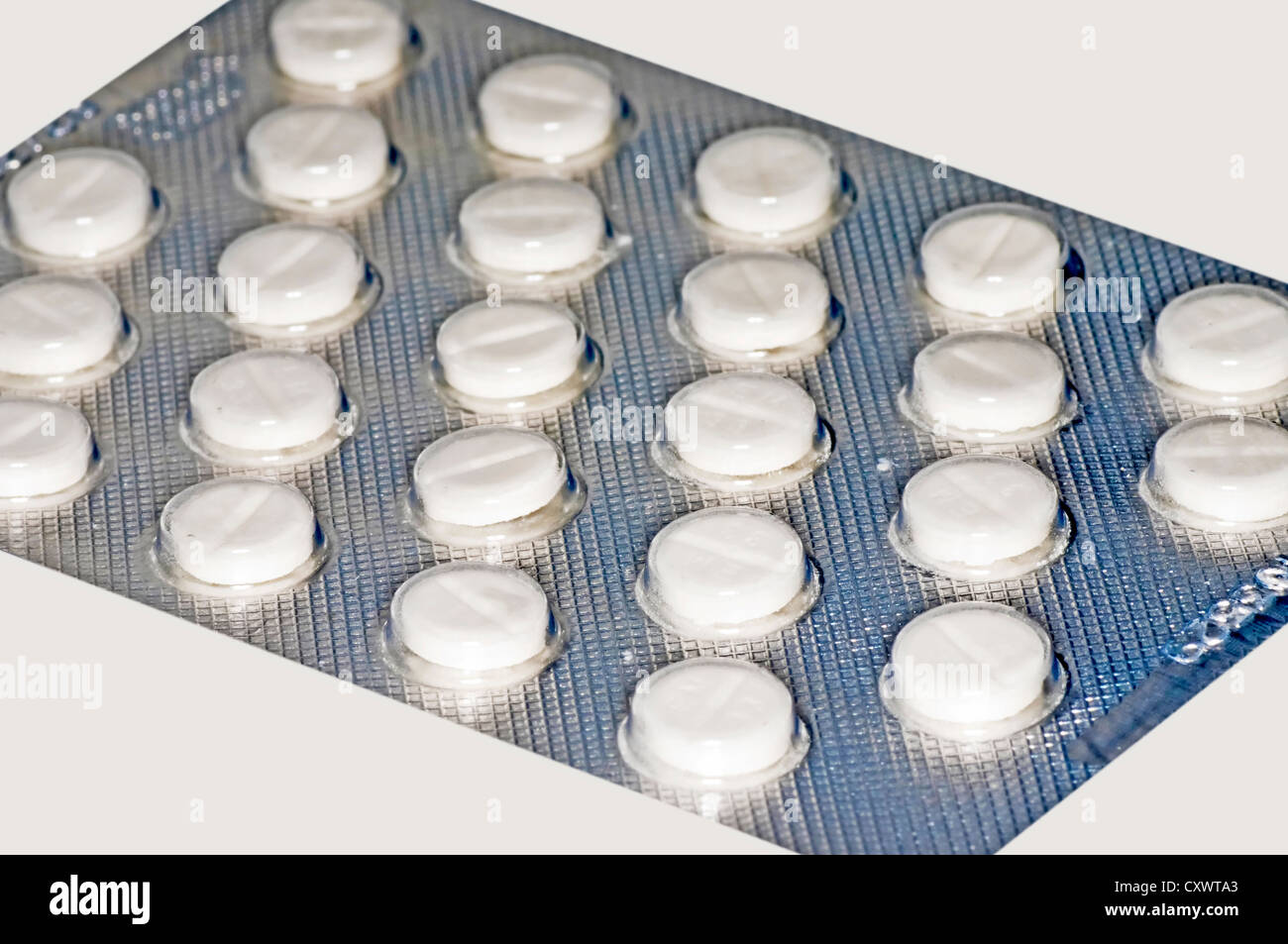 iodine pills - Stock Image