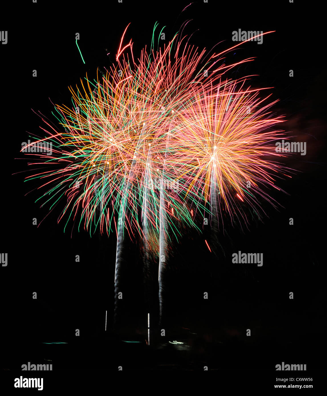 Fireworks display - Stock Image