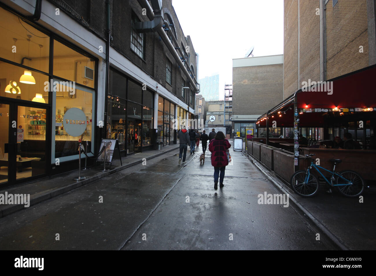 shoreditch, London, U.K. - Stock Image