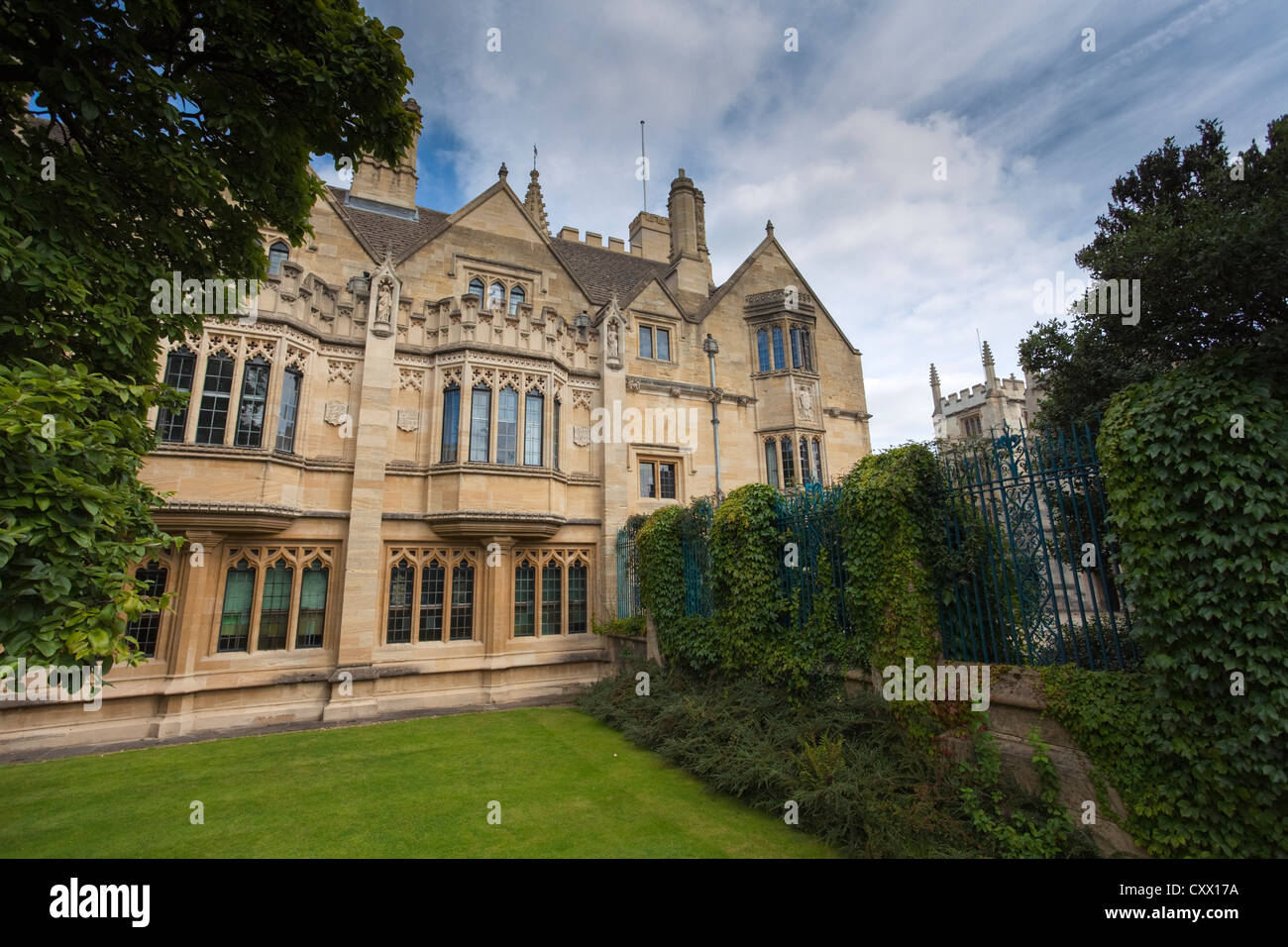Buildings of Magdalen College, Oxford, UK - Stock Image