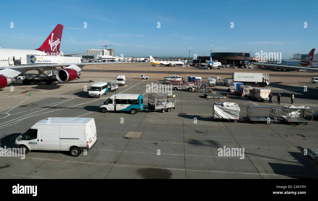 Gatwick Airport, London, England, UK, United Kingdom, GB, Great Britain, EU - Stock Image