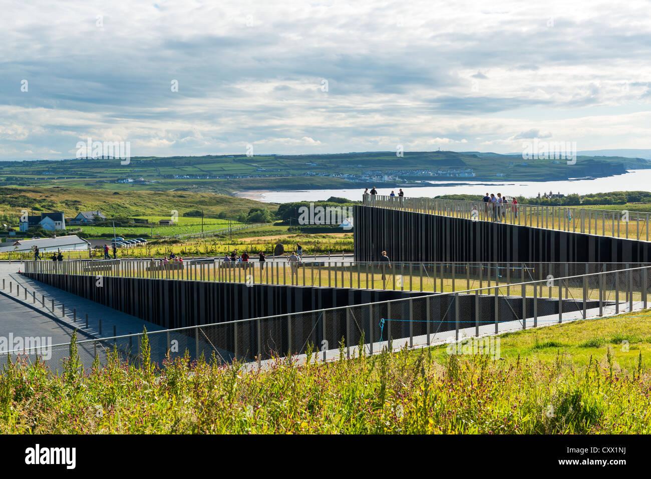 Giant's Causeway, County Antrim, Northern Ireland - Stock Image