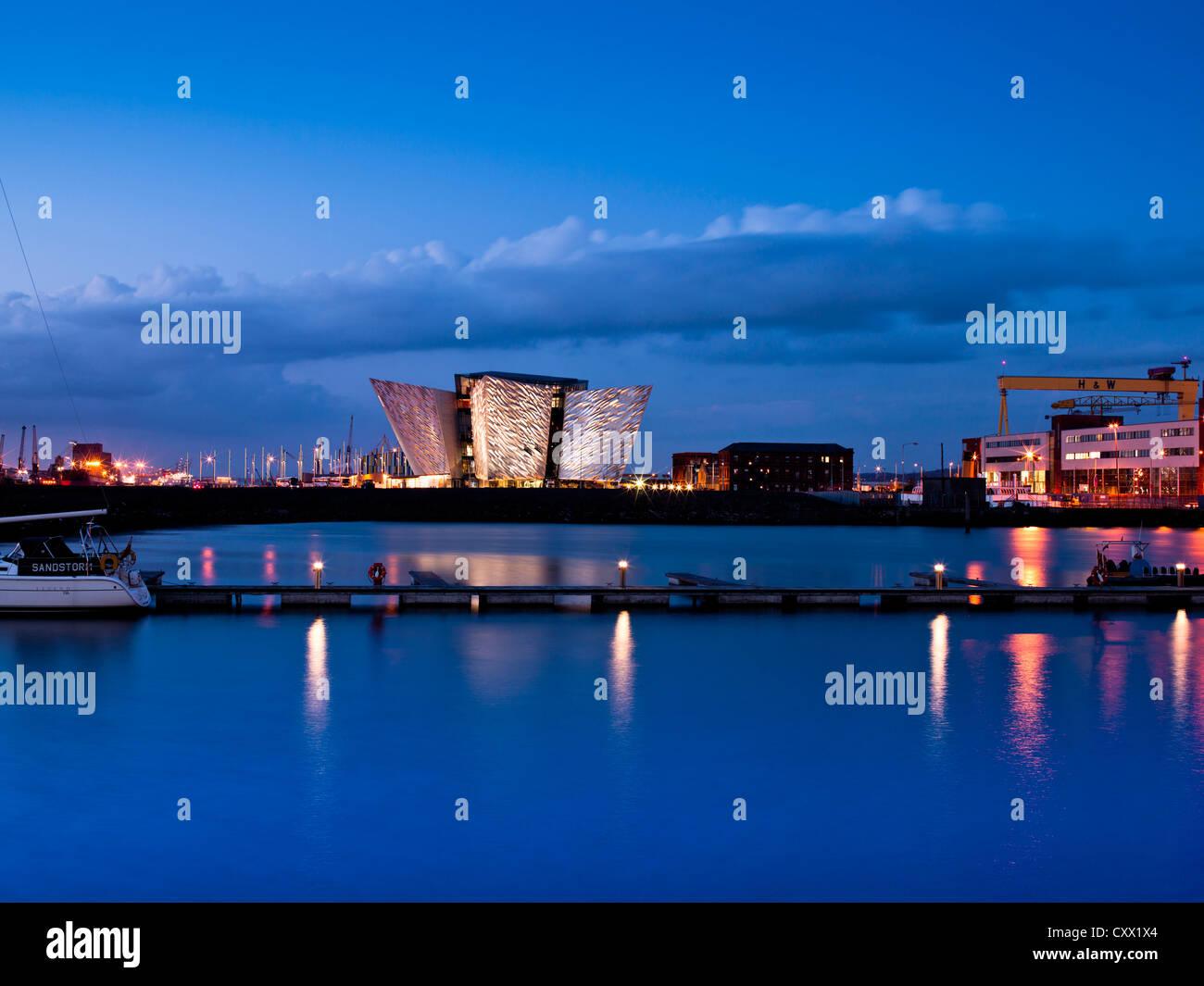 Titanic Belfast, Northern Ireland Stock Photo