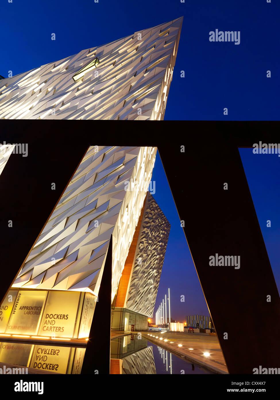 Titanic Belfast, Northern Ireland - Stock Image