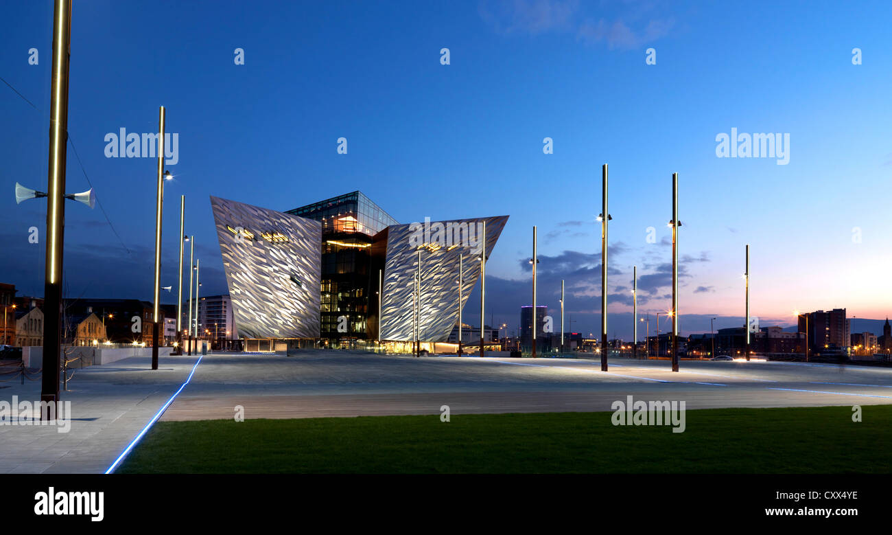 Titanic Belfast, Northern Ireland Stock Photo