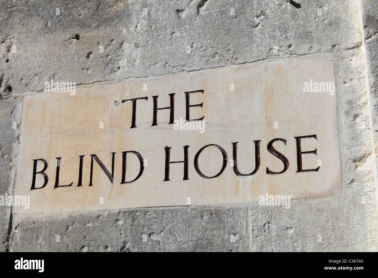 The Blind House, Box, Wiltshire - Stock Image
