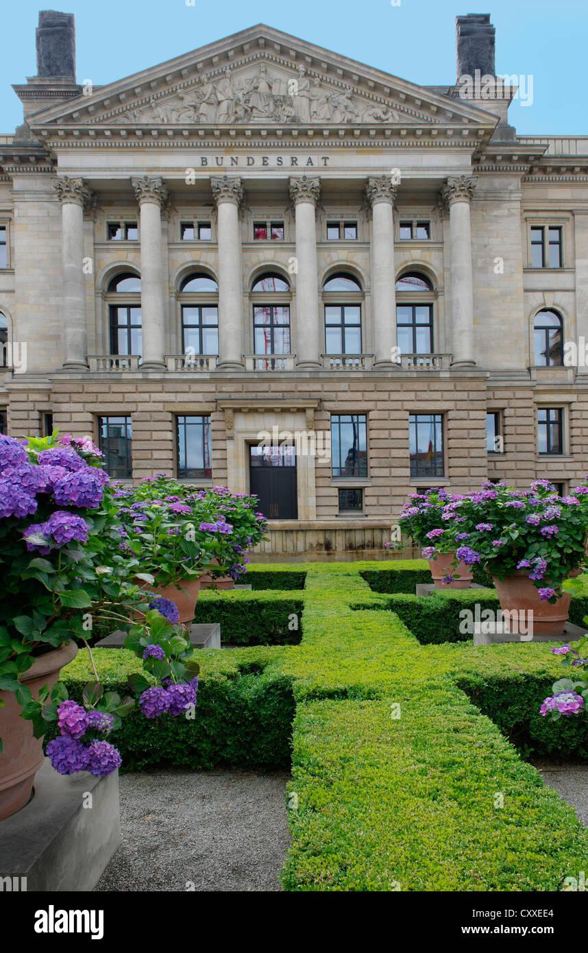 Bundesrat, Federal Council, Leipziger Strasse, Berlin - Stock Image