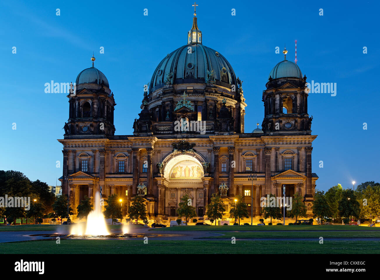 Berlin Cathedral, Museumsinsel, Museum Island, Berlin - Stock Image