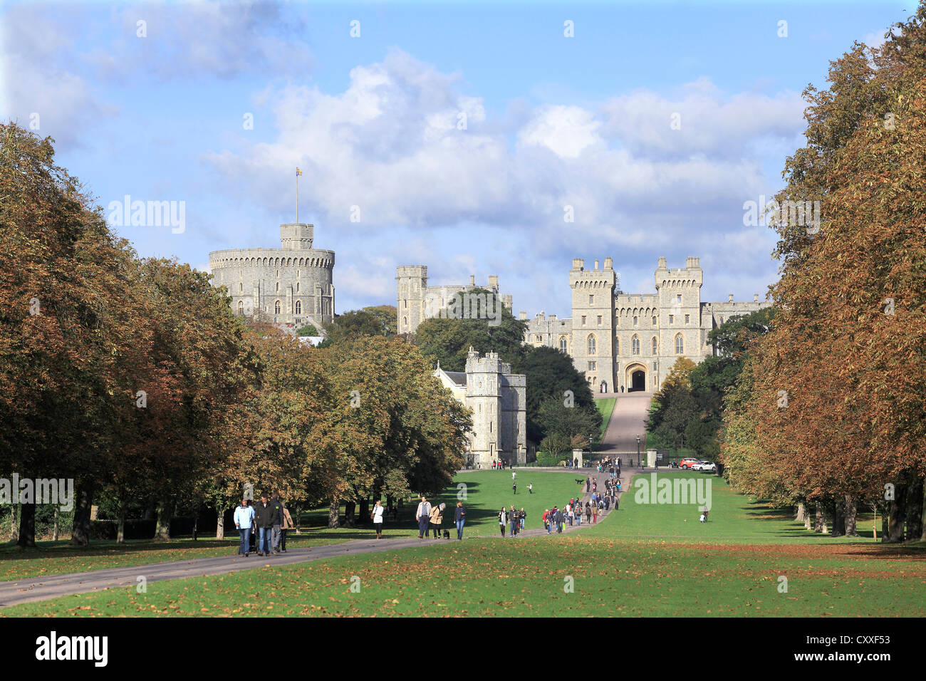 Windsor Castle England - Stock Image