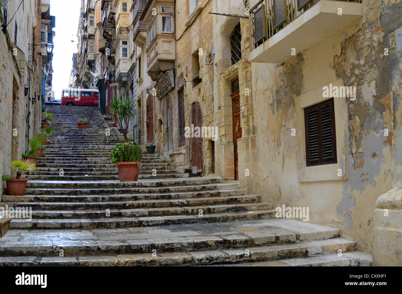 Old stairs in Europe 13