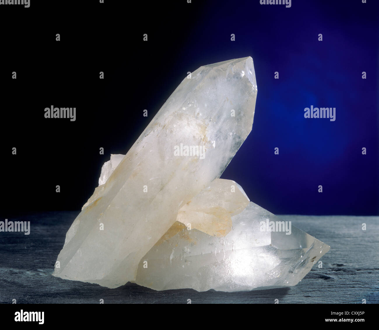 Rock crystal - Stock Image