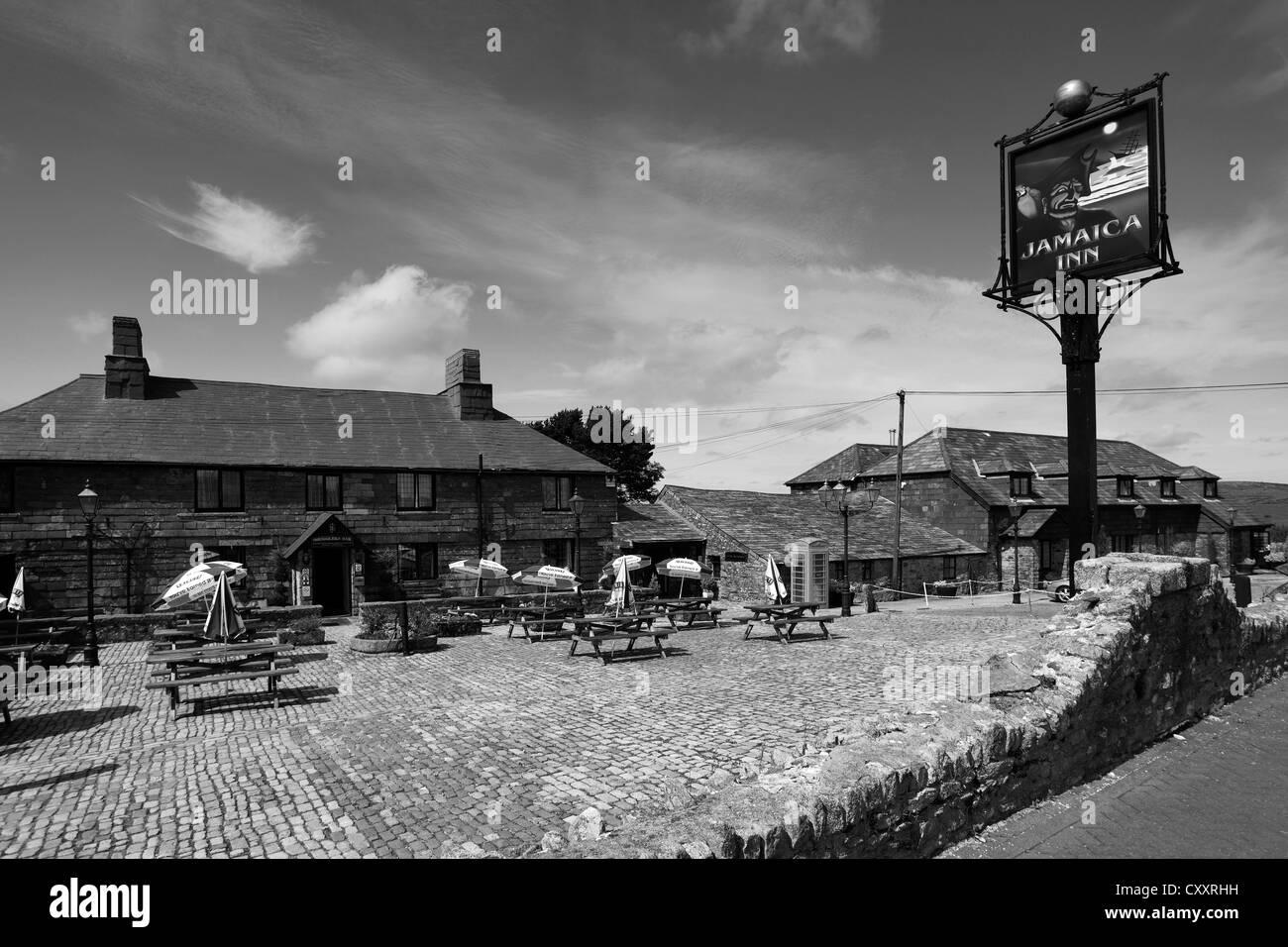 The jamaica inn bodmin moor cornwall england uk stock image