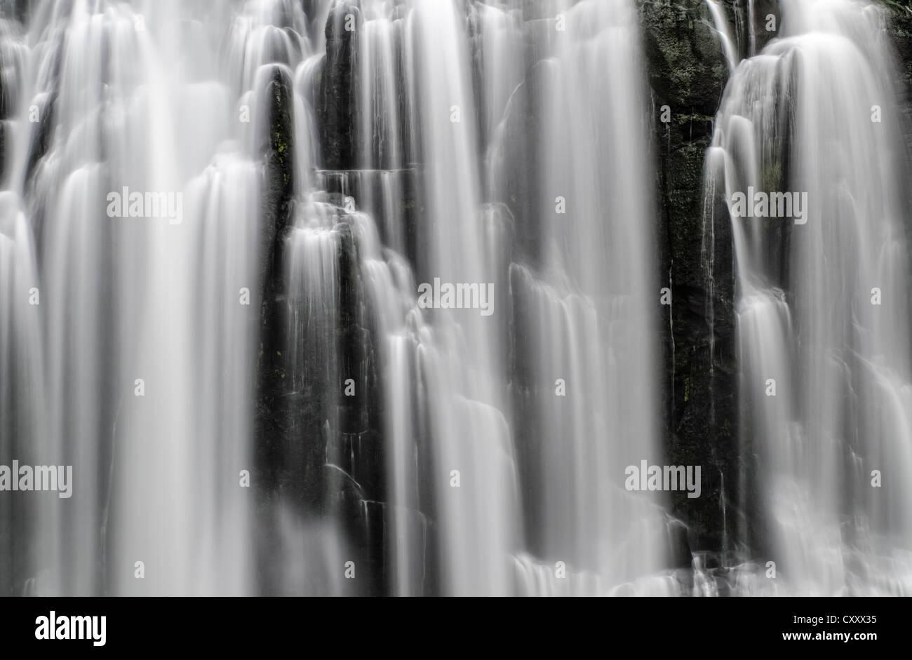 Marokopa Falls, Waikato, North Island, New Zealand - Stock Image