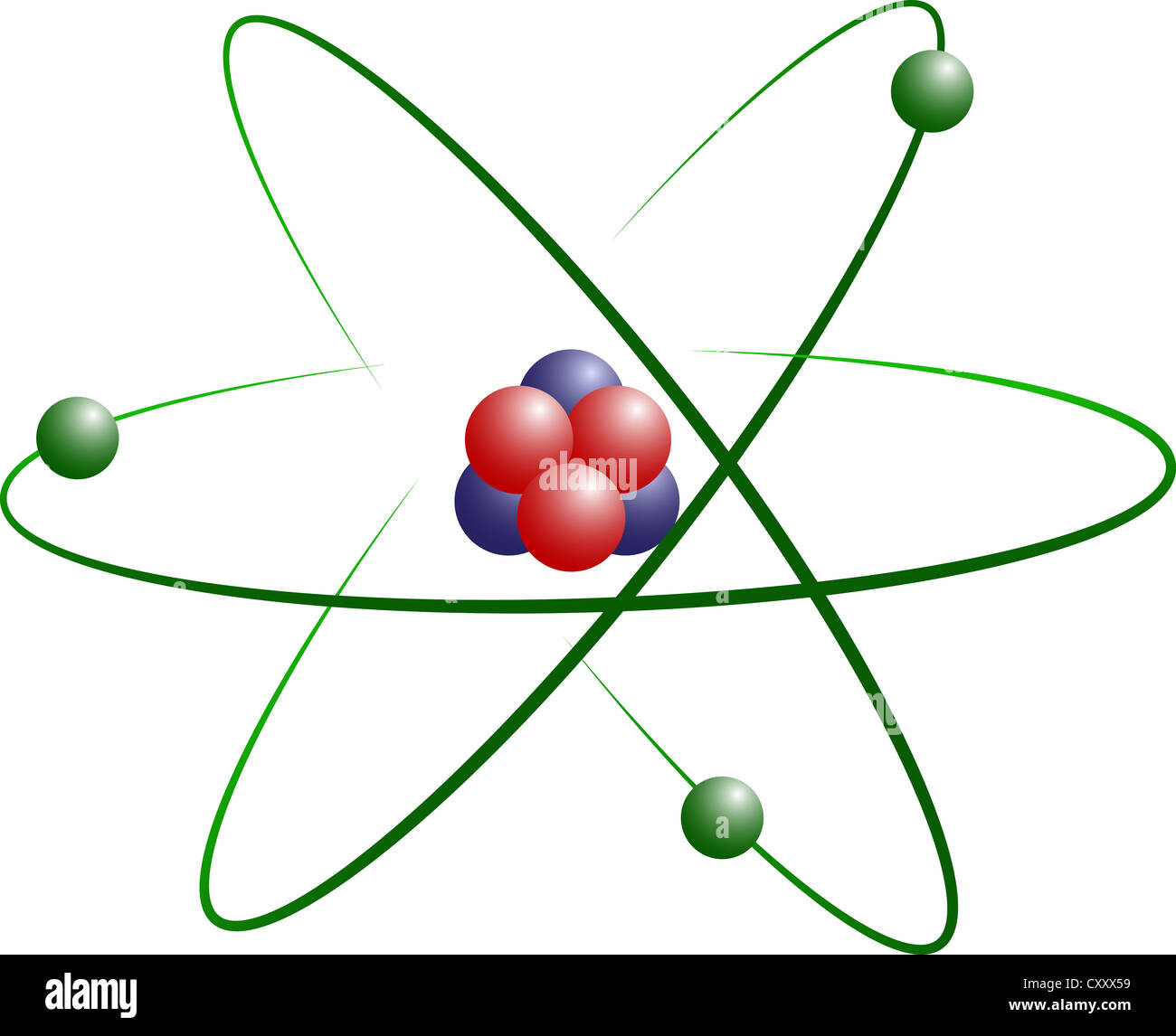 Atom Diagram Lithium Custom Wiring Oxygen Structure Stock Photo Model Of With Protons Electrons And Neutrons Rh Alamy Com Fluorine Beryllium