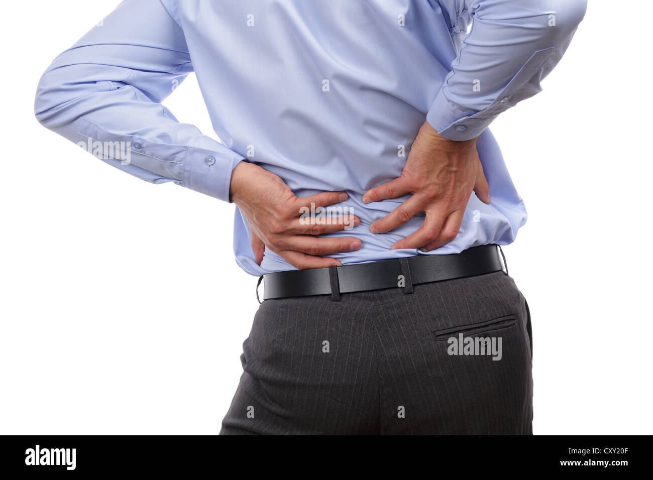 Backache - Stock Image