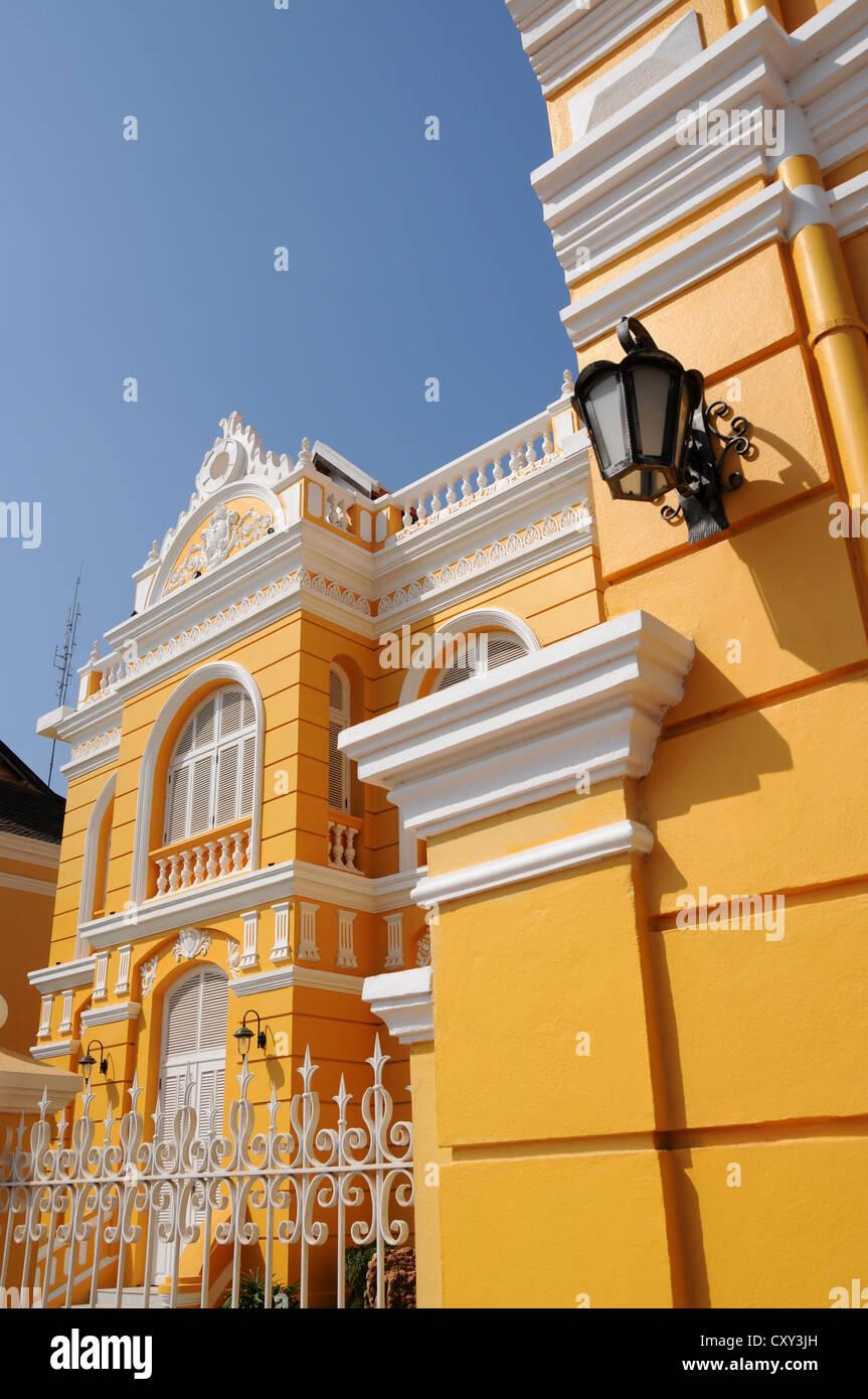 French Colonial House Battambang Cambodia Asia