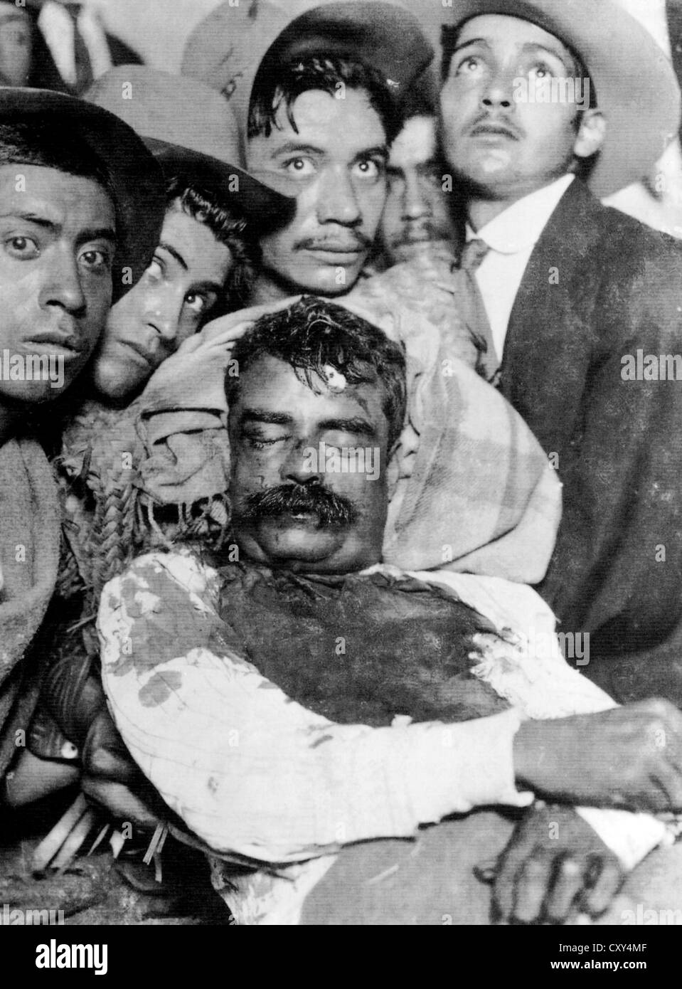 PANCHO VILLA (1878-1923) Mexican revolutionary general after his murder in  Parral on 20 July 1923