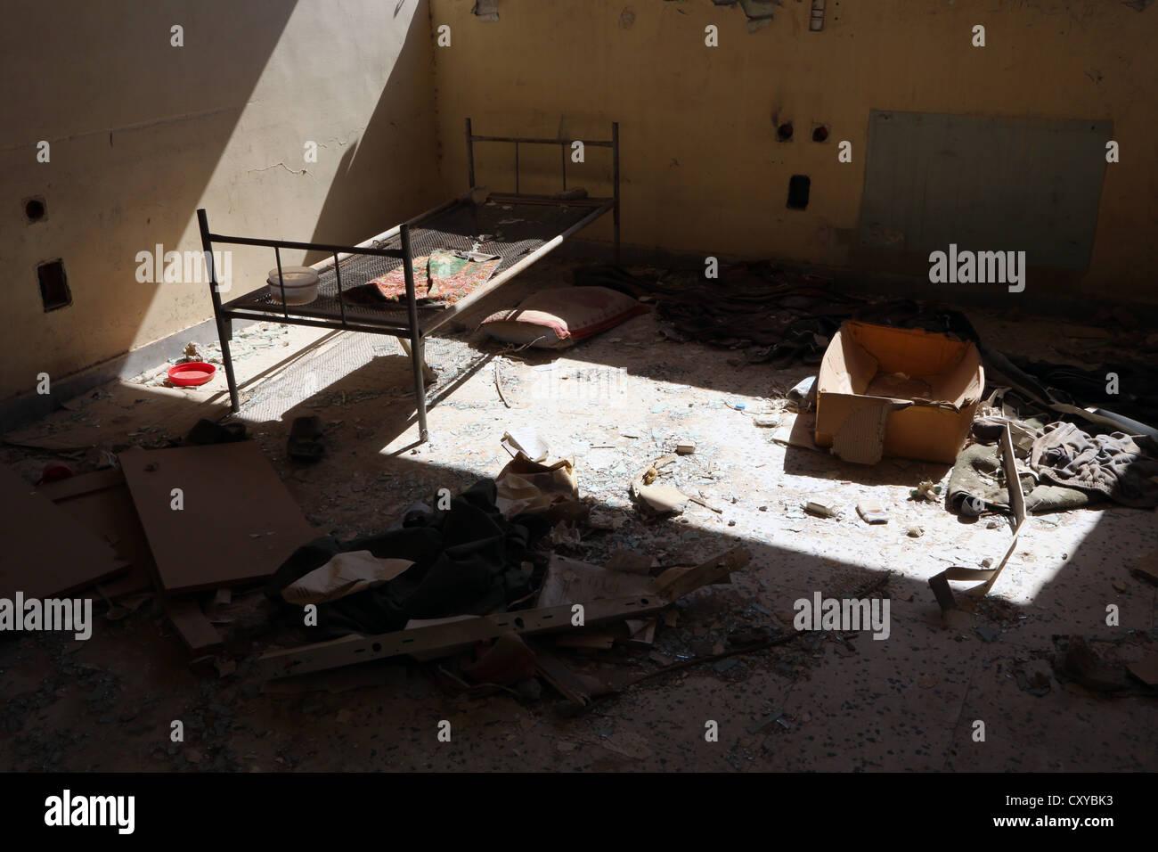 Abu Salim prison, Tripoli, Libya - Stock Image