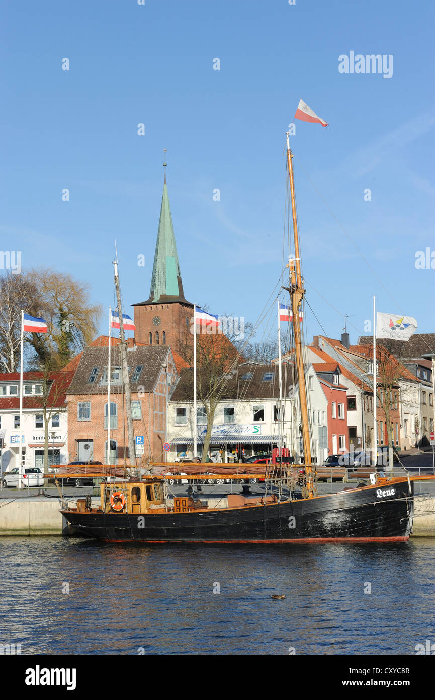 Port, Neustadt in Holstein, Schleswig-Holstein - Stock Image