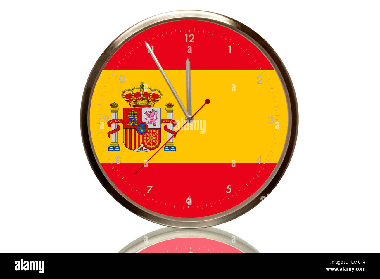 Euro Symbol With The Spanish Flag Spain Stock Photos Euro Symbol