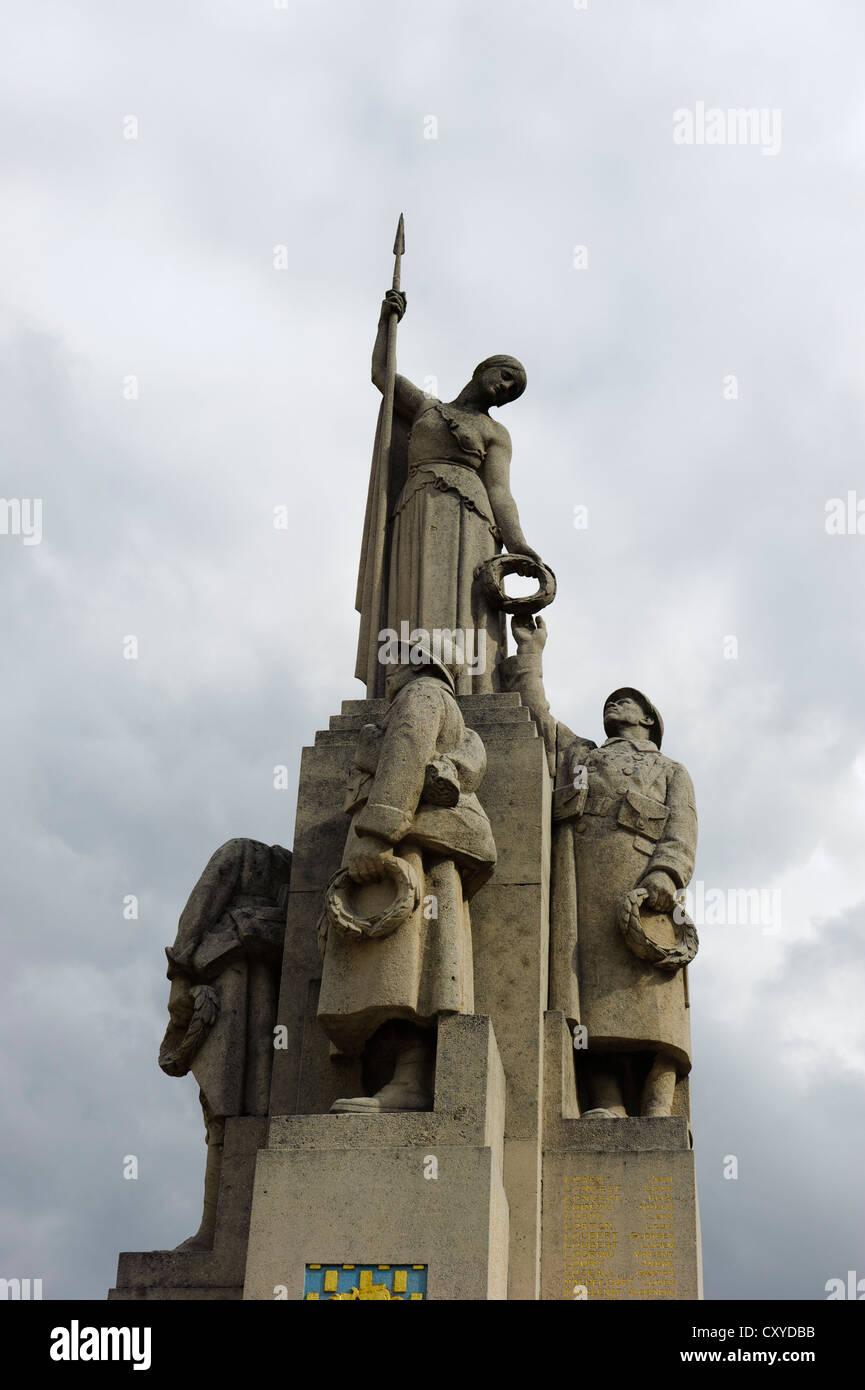 Memorial to Concentration Camp prisoners Saint-Amatre - Stock Image