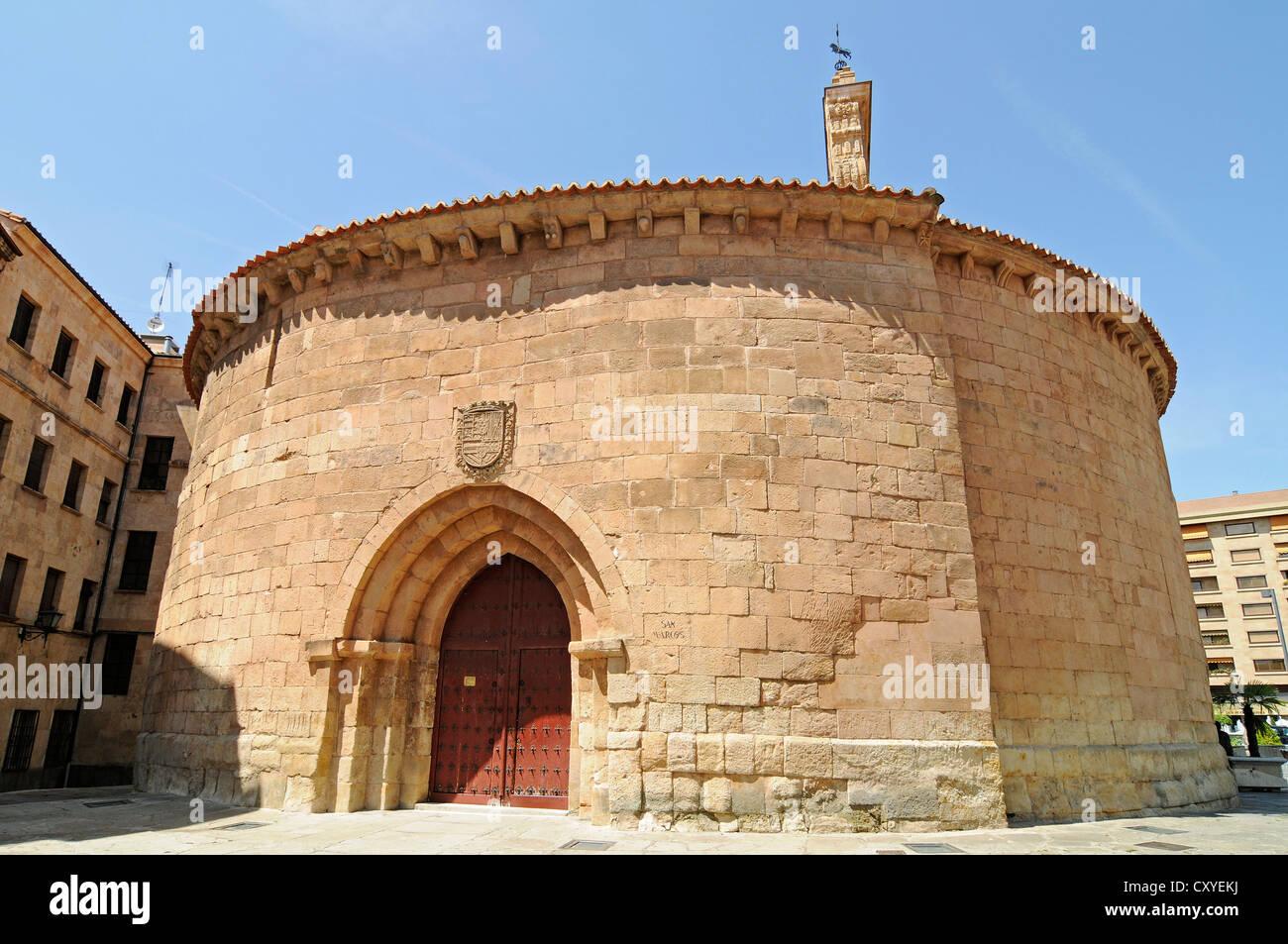 Church of San Marcos, Salamanca, Castile-Leon, Spain, Europe, PublicGround - Stock Image