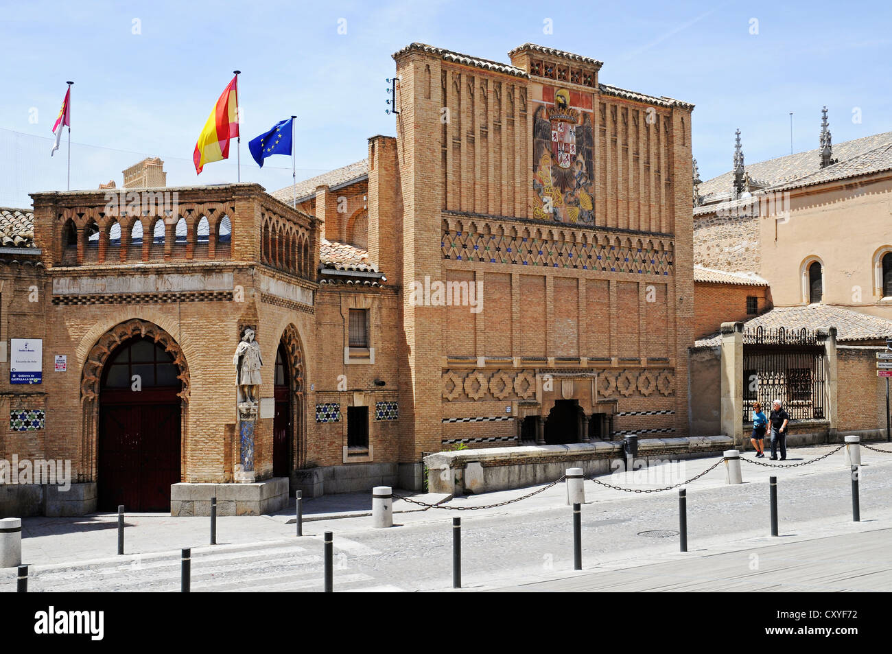 School of Art, University of San Juan de los Reyes, Toledo, Castile-La Mancha, Spain, Europe, PublicGround - Stock Image