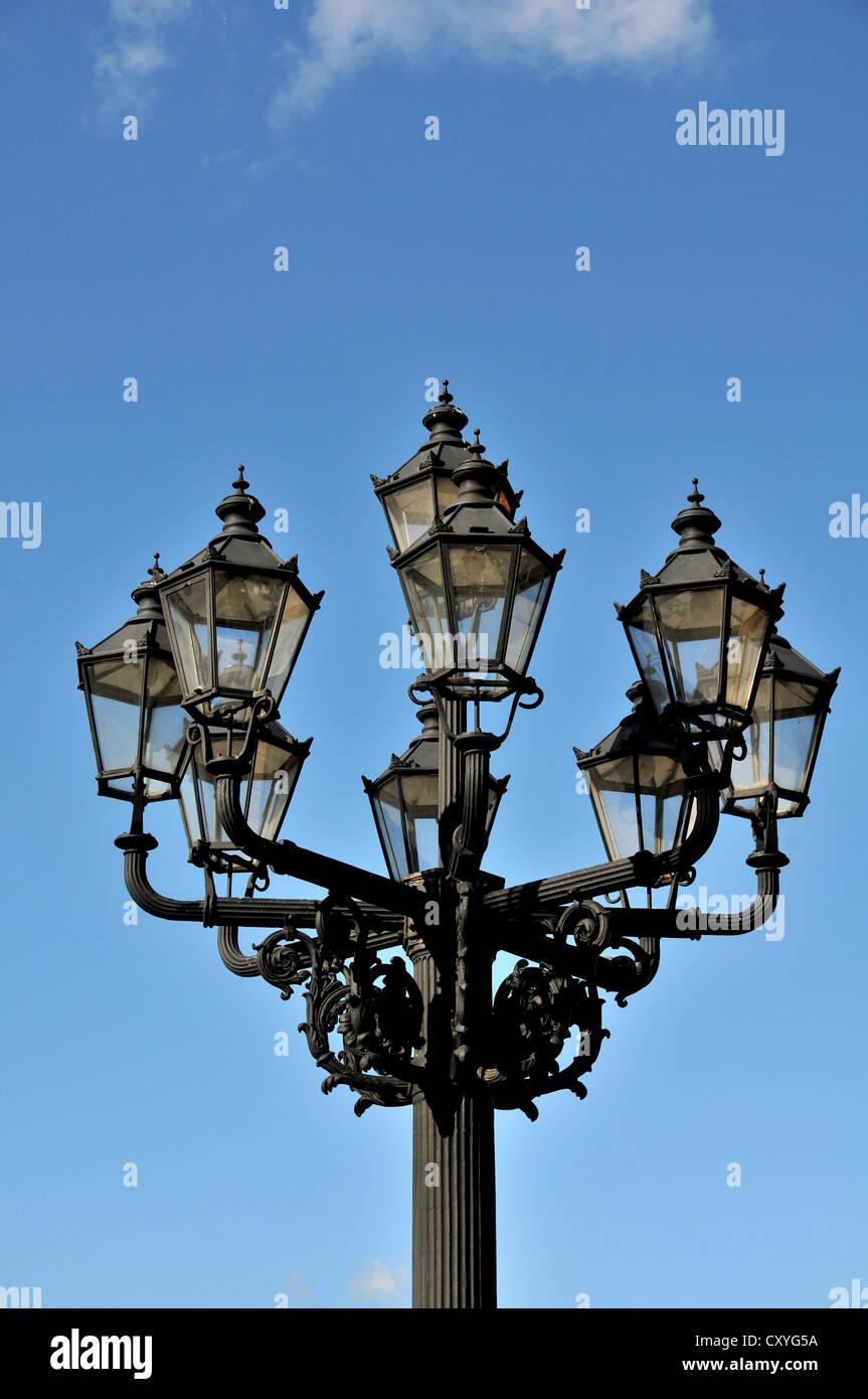 urban lamp, Berlin, Germany - Stock Image