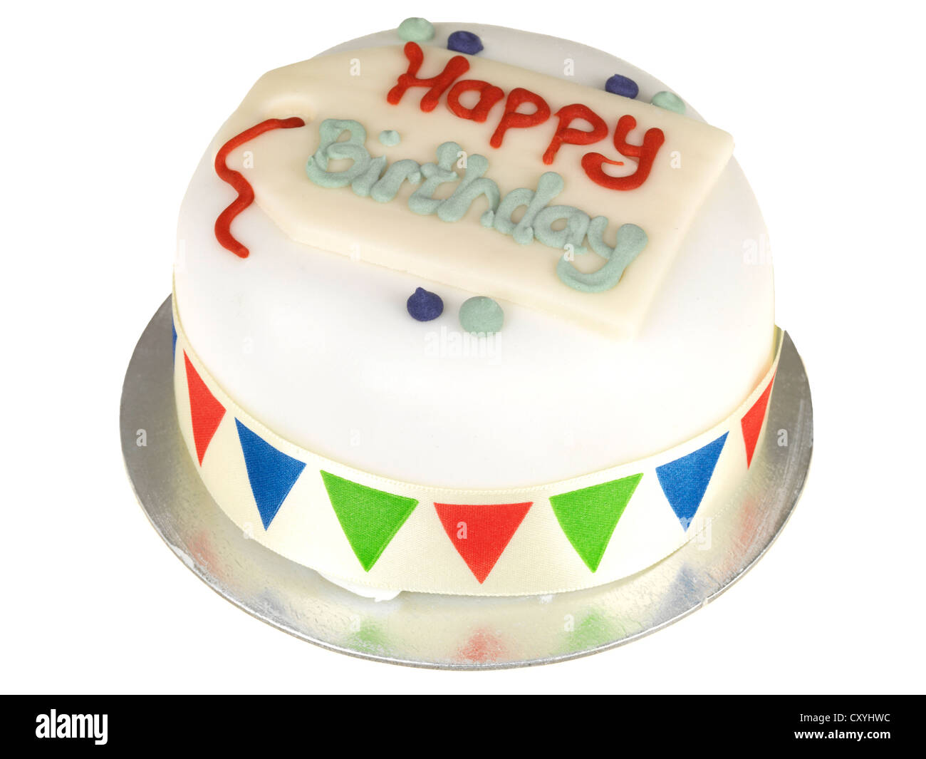 Happy Birthday Cake Stock Photo 51008536