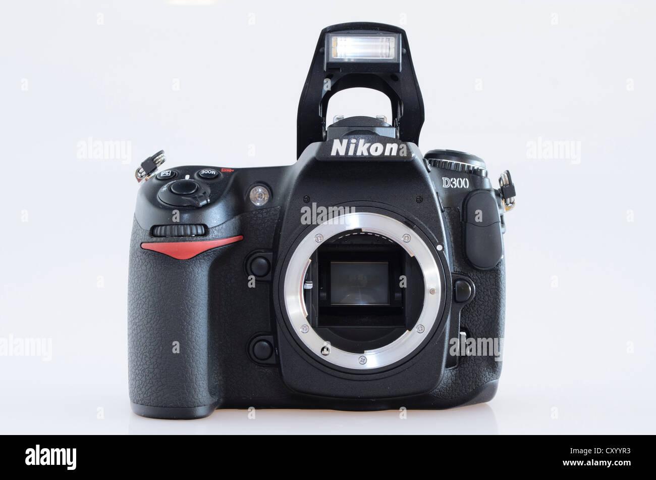Digital SLR camera, Nikon D300 - Stock Image