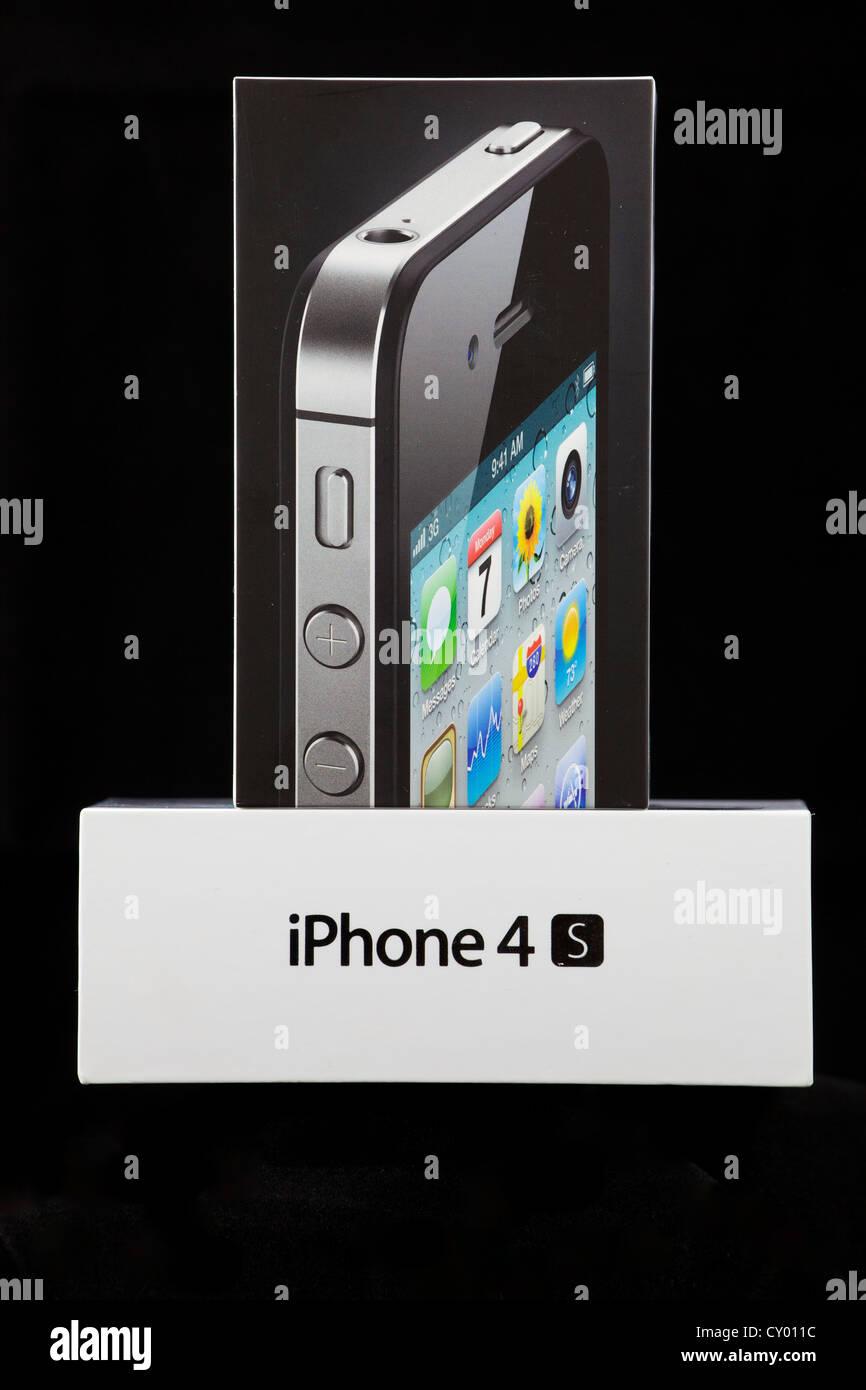 Black iPhone 4S Box - Stock Image