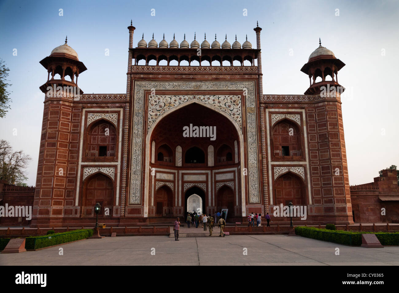 asia india taj mahal entry stock photos asia india taj mahal entry stock images alamy. Black Bedroom Furniture Sets. Home Design Ideas