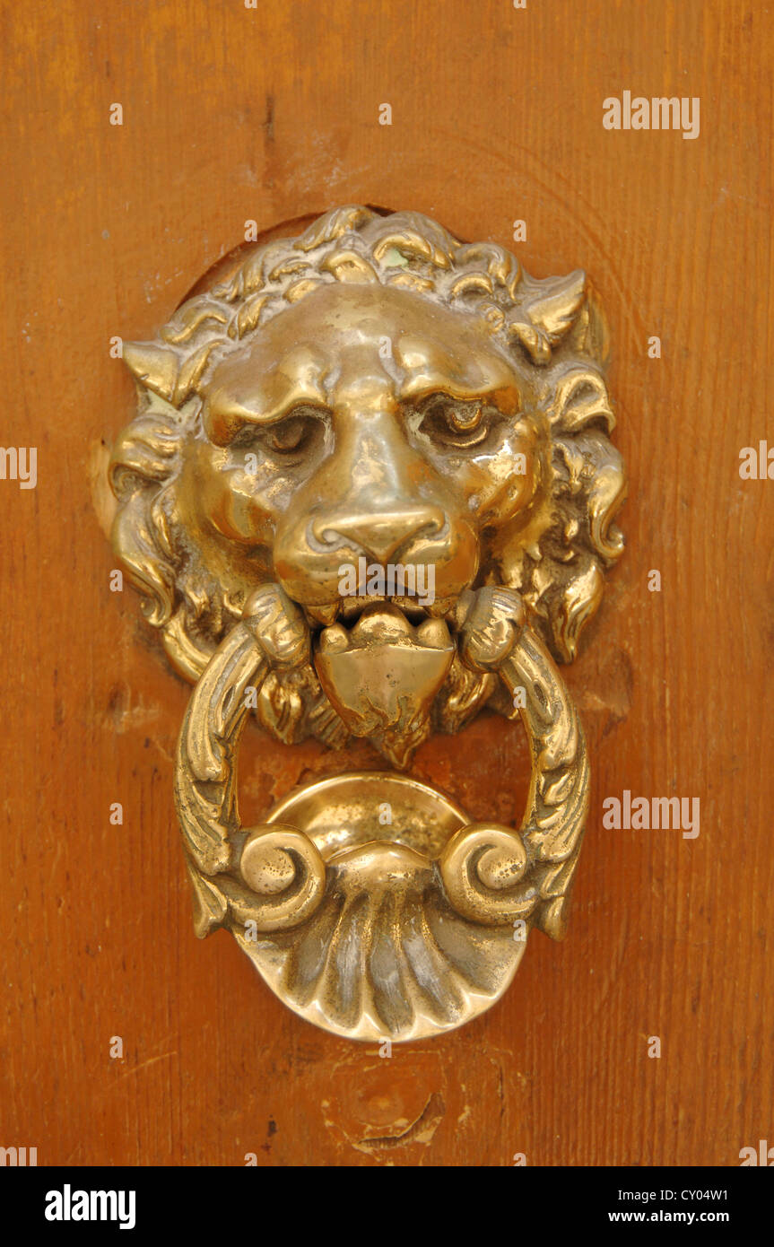 Face Door Knocker Stock Photos Amp Face Door Knocker Stock