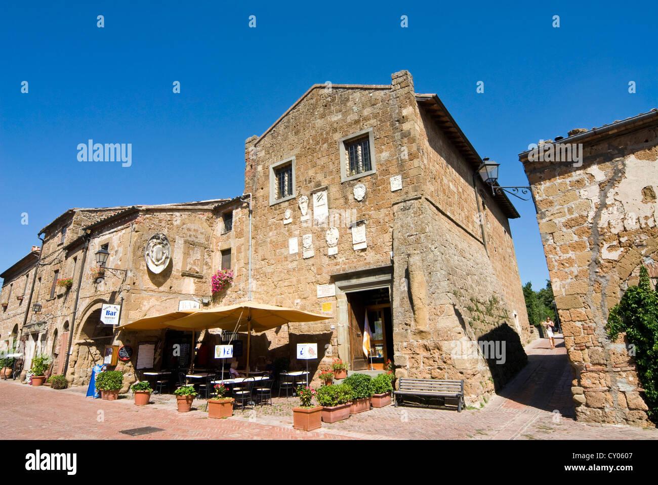 Sovana, Grosseto Province, Tuscany, Italy - Stock Image