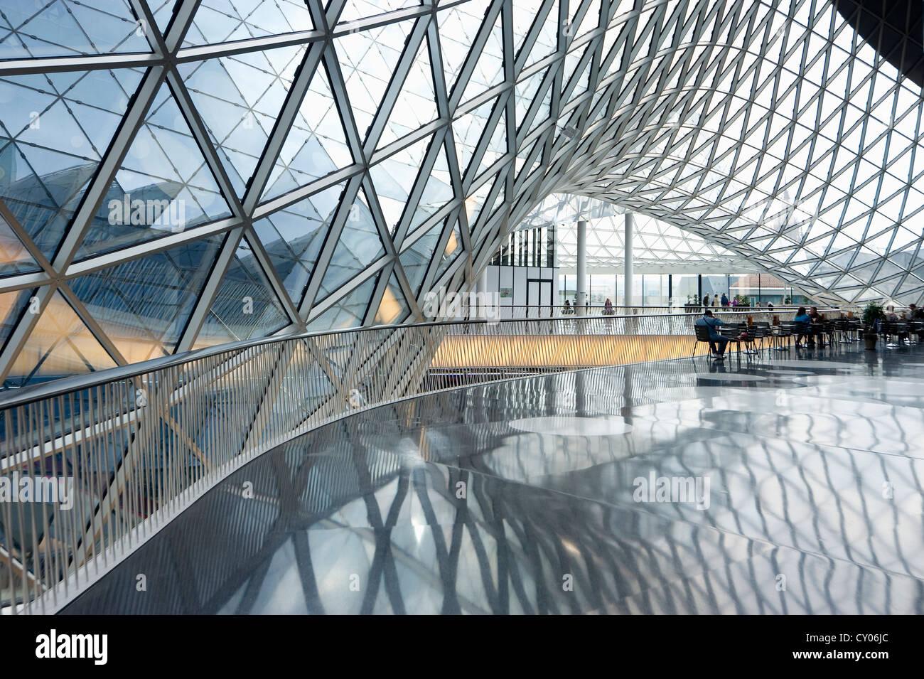 My Zeil shopping centre, by architect Massimiliano Fuksas, Frankfurt, Hesse - Stock Image